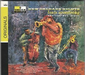 LOUIS ARMSTRONG - new orleans nights CD nuovo