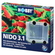 Hobby Nido de 3.1 Caja De Desove Cría Tanque neto Bebé Fish Fry Criadero acuario