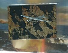"""Scenic Airlines issued Tri Motor """"Tin Goose"""" ov. Grand Canyon cont/l postcard"""