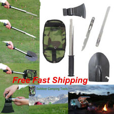 4-in-1 Outdoor Camping Tool Knife Shovel Axe Saw Multi-function Survival Tools