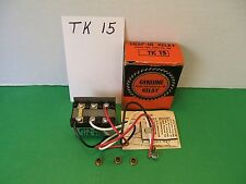 *NEW* GENUINE SEALED UNIT PARTS CO. SNAP IN RELAY TK 15
