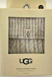 UGG lot of 2 boxes shaye tall rainboot socks Women's size 5-10
