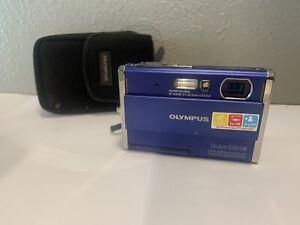 OLYMPUS STYLUS 1050SW DIGITAL CAMERA-BLUE