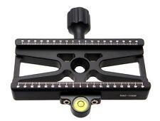 "100mm Skeleton Clamp DAC-100B Level Desmond Arca Compatible /Tripod 1/4"" / 3/8"""