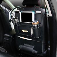 Car Back Seat Felt Storage Organizer Pad Holder Travel Storage Multi Pocket
