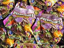 DRACCO - 10 Booster - Predasaurs Dragon Fire - DNA Fusion - Dino Monster