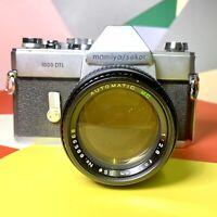 Mamiya / Sekor 1000 DTL 35mm SLR Camera + 135mm F:2.8 Lens Film Tested!