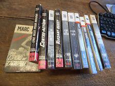lot de 12 livres de Marc Arno : l'espion d'argile - trouvez l'espion !
