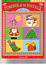 Tombola di Natale. Un gioco da ritagliare - EL - Libro nuovo in offerta