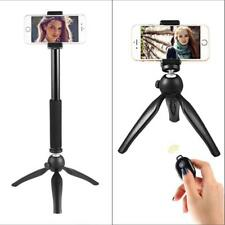 Aluminum Camera Cell Phone Tripod With Bluetooth Remote Control Shutter