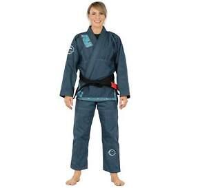 Fuji Submit Everyone Womens Brazilian Jiu-Jitsu BJJ Gi - Teal Blue