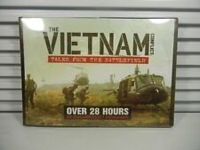 The Vietnam Conflict : Tales from the Battlefield DVD 4 Disc Documentary 28 Hrs