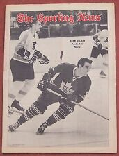 2-1-69 Sporting News  Toronto Maple Leafs Norm Ullman on Cover