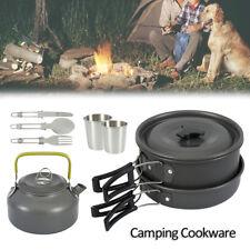 Camping Ustensile cuisine Casseroles Bouilloire Équipement randonnée barbecue PB