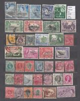 LOT STAMPS BRITISH COLONIES   USED (L43624)