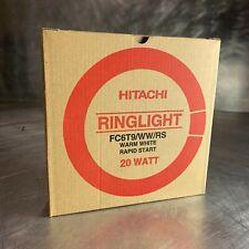 Hitachi 20W Ring Light - Fluorescent - FC6 T9 / WW / RS Warm White Rapid Start