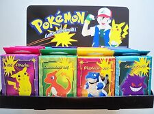 One & Only Mint 1999 Set of 24 Pokémon Mini Puzzles in Promotional Display Case