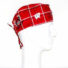 University of Wisconsin Theme Scrub Hat