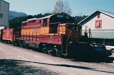 2001 Photo GSMRR 777 Great Smoky Mountains Railroad Train Dillsboro, NC 4 x 6