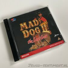 "MAD DOG II ""THE LOST GOLD"" PHILIPS CD-I GAME"