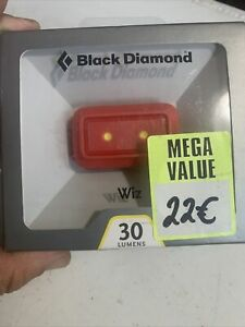 Black Diamond Wiz Kids Head Torch BNIB 30 Lumens Camping Hiking RRP £34 Explorin