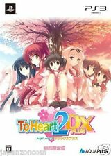 Used PS3 To Heart 2 DX Plus  SONY PLAYSTATION 3 JAPAN JAPANESE IMPORT