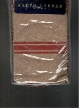 Ralph Lauren Bertrand Red Stripe Standard Pillowcases Jardiniere Diplomat  New