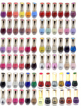 Saffron Nail Polish/Varnish - 72 Colours to Choose From- Glossy, Glitter, Pearls