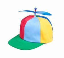 Helicopter Clown Hat Geek Sci Fi 1950 50s Cartoon Flying Fancy Dress Accessory