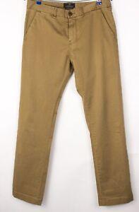 Scotch & Soda Hommes Bowie Extensible Décontracté Pantalon Chino Taille W32 L32