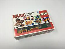 Lego 320 320-1 Basic Universal Building Set unopened with light box wear