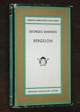 Georges Simenon - BERGELON - prima edizione Mondadori Medusa 1964
