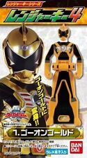 Japan BANDAI Kaizoku Sentai GOKAIGER Ranger Key GO-ON-GOLD Candy Toy