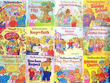BERENSTAIN BEARS Living Lights (pb) Forgiving Tree,Prayers,Golden Rule + 20Books