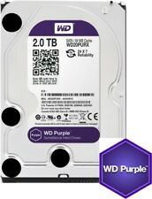 "Western Digital WD Purple 2TB 3.5"" Hard Drive HDD SATA3 7200RPM, CCTV,NVR,DVR,PC"