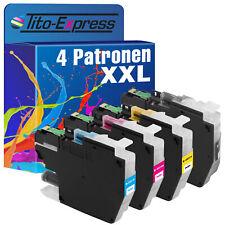 4 Patronen XL ProSerie für Brother LC3211 DCP-J 572 DW DCP-J 772 DNW DCP-J 772DW