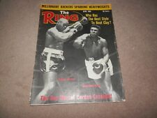 The Ring Magazine April 1966 Cassius Clay cover