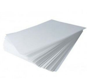 100 waxed paper sheets Crafts Soap Wrap Food