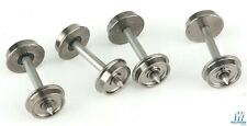 NEW Walthers Proto 33 Turned Metal Wheelsets w/Metal Axles (100) HO FREE US SHIP