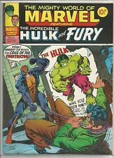 Mighty World of Marvel / Incredible Hulk : comic book #272 from December 1977