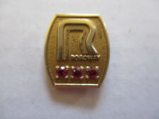 vintage Roadway Trucker Trucking Safety Award Safe Driving Pin