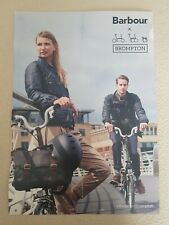 BROMPTON BARBOUR Bicycle Poster
