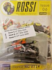 ROSSI BIKE COLLECTION 2020 1: 18 SCALE MODEL DIECAST = # 6 - HONDA RC 211V