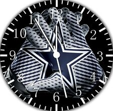 Dallas Cowboys Frameless Borderless Wall Clock Nice For Gifts or Decor F119