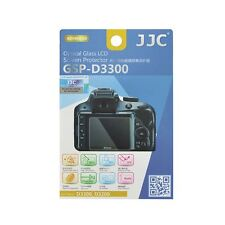 JJC GSP-D3300 Thin Optical Glass LCD Screen Protector for Nikon D3300, D3200