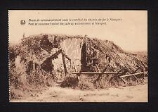 37889/ AK - 1. Weltkrieg - Poste de commandement sous le remblai… - *