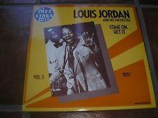 LP LOUIS JORDAN : Come On...Get It... (vol.5-1951) - Jazz Stars 44 - MCA 510193