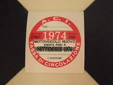 Imposta ITALIANO DISCO 1974-FIAT 500 600 126 LANCIA BETA GIULIETTA ALFA GTV6 ABARTH