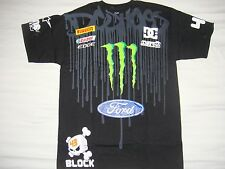 ***HOT ITEM** NWOT DC SHOES KEN BLOCK MEN MONSTER SUBARU FORD T SHIRT MEDIUM