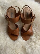 dune tan shoes size 5